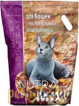 Nutra Mix Gold Cat Finicky Adult